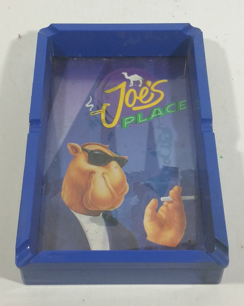 1994 Camel Joe's Place Blue Cigarette Smokes Ash Tray Smoking Tobacciana Collectible