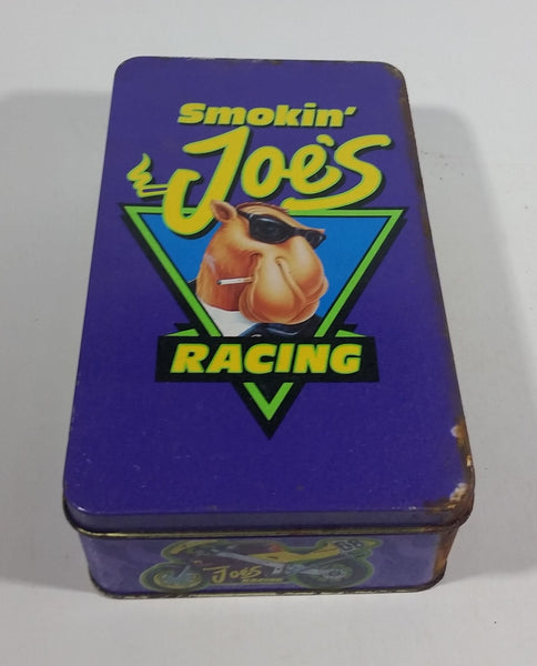 1994 Camel Smokin Joe's Cigarettes Smokes Nascar Racing Match Packs Hinged Tin Metal Container Tobacco Collectible - EMPTY