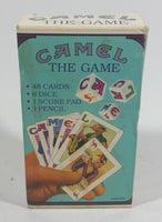 "1992 ""Camel The Game"" Tobacco Smokes Tobacciana Collectible Card and Dice Game - Treasure Valley Antiques & Collectibles"