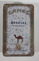 1993 Camel Special Lights Matches Cigarettes Smokes Hinged Tin Metal Container Tobacco Collectible