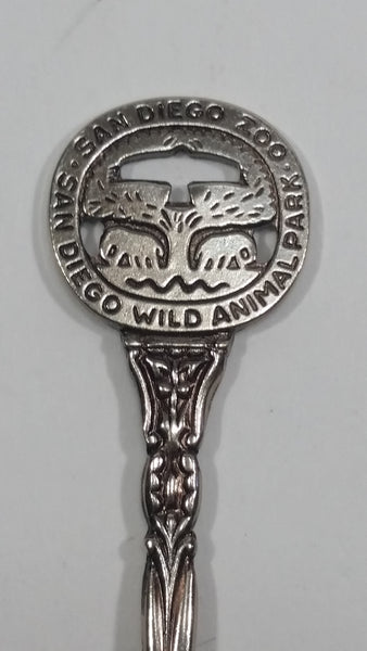San Diego Zoo Wild Animal Park Metal Spoon Souvenir Travel Collectible - Treasure Valley Antiques & Collectibles