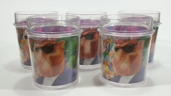 1994 RJRTC Camel Cigarettes Smokes Joe's Place Set of 5 Plastic Drinking Cups Tobacciana Collectible - Treasure Valley Antiques & Collectibles