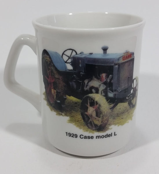 "1929 Case Model L Tractor ""If You See Someone Without A Smile Give Him one of yours."" White Ceramic Coffee Mug Farming Collectible - Treasure Valley Antiques & Collectibles"