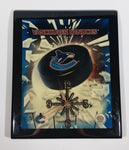 2005 Photo File Vancouver Canucks NHL Ice Hockey Team Black Lacquered Clock Sports Collectible