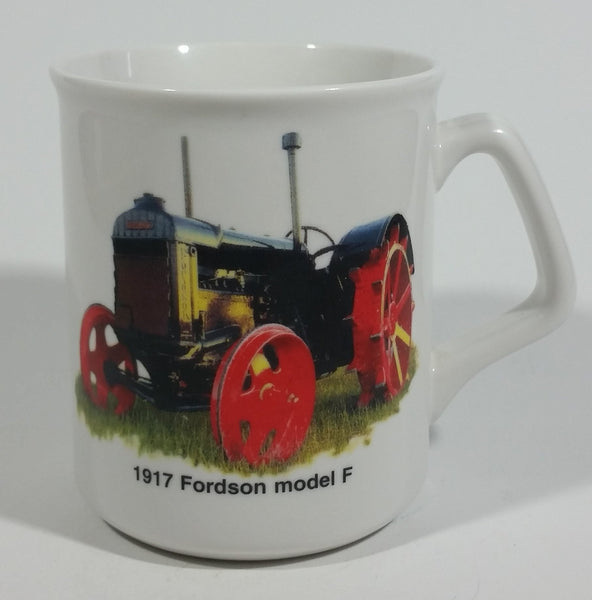 "1917 Fordson Model F Tractor ""Today is the tomorrow you worried about Yesterday!"" White Ceramic Coffee Mug Farming Collectible - Treasure Valley Antiques & Collectibles"