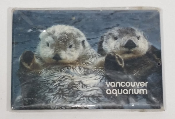 "Vancouver Aquarium Sea Otter 2 1/4"" x 3 1/8"" Fridge Magnet Collectible Serena Keay"