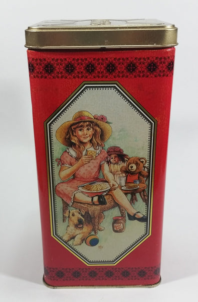 1991 Christie's Limited Edition Premium Plus Salted Crackers Tin - Nabisco Brands