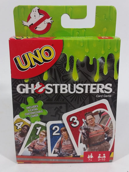 2016 UNO Ghostbusters Card Game Movie Film Collectible New in Box