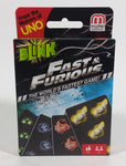 2016 UNO Blink Fast & Furious Card Game Movie Film Collectible New in Box