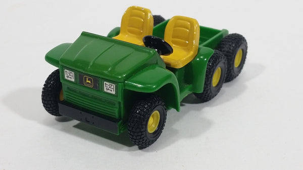 ERTL Farm Country John Deere Gator 6x4 Six-Wheel ATV Maintenance Yellow Green Plastic and Die Cast Toy Car Farming Vehicle 2100CX00 - Treasure Valley Antiques & Collectibles