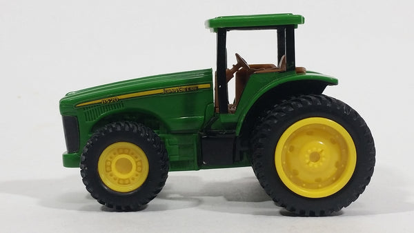 ERTL John Deere Dealer Days Farming Tractor 8520 Yellow Green Plastic Toy Car Farming Vehicle 2174SR00 - Treasure Valley Antiques & Collectibles