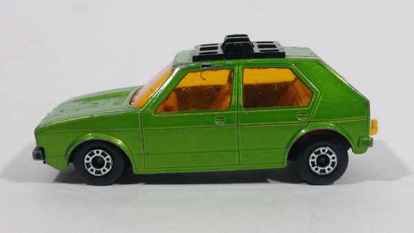 1976 Lesney Products Matchbox Lime Green Superfast No. 7 VW Volkswagen Golf Toy Car Vehicle - Treasure Valley Antiques & Collectibles