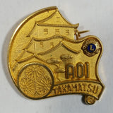 Vintage Takamatsu Japan A01 Lions Club Pin