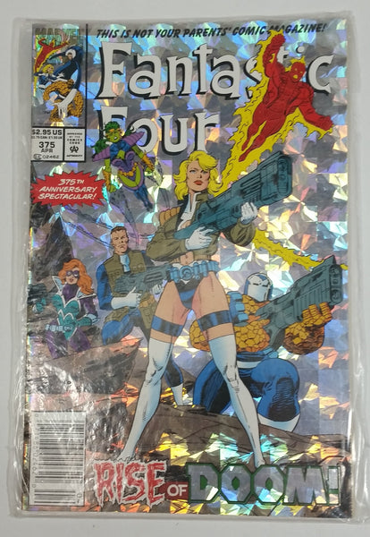 1992 Marvel Comics Fantastic Four Rise of Doom! #375 April Comic Book Near Mint