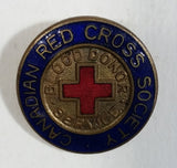Antique Enamaled Sterling Silver Canadian Red Cross Society Service Pin C. Lamond Fils