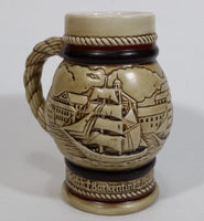 1983 Avon Tall Ships Collection Beer Stein - Ceramarte Brazil - Treasure Valley Antiques & Collectibles