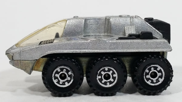 1988 Hot Wheels Action Command Radar Ranger Silver Die Cast Toy Car Vehicle