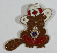 Vintage Barriere BC Canadian Beaver Lions Club Pin