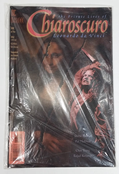 1995 DC Vertigo The Private Lives of Chiaroscuro Leonardo da Vinci Six of Ten December Comic Book Near Mint - Treasure Valley Antiques & Collectibles