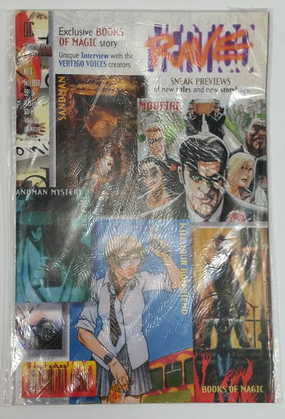 Rare Fall 1994 DC Vertigo Rave #1 February Comic Book Near Mint - Treasure Valley Antiques & Collectibles