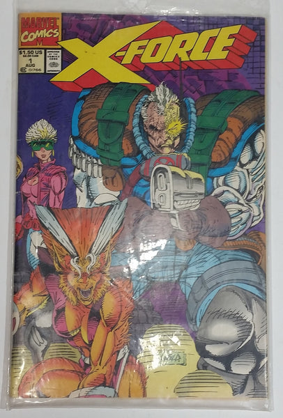 1991 Marvel Comics X-Force 50 Years of Captain America #1 August Comic Book Near Mint