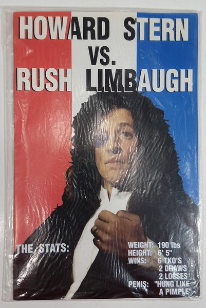 1994 Boneyard Press Comics Howard Stern vs. Rush Limbaugh Comic Book Near Mint