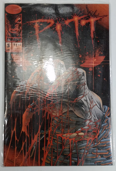 1994 Image Comics Pitt #5 June Comic Book Near Mint - Treasure Valley Antiques & Collectibles