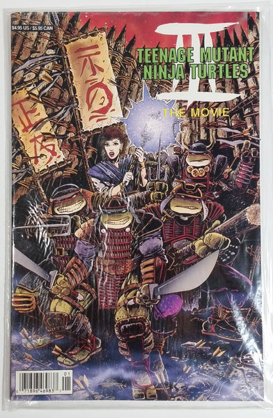 1993 Archie Adventure Series Teenage Mutant Ninja Turtles III The Movie Comic Book Near Mint