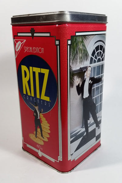 1990 Christie's Limited Edition Ritz Crackers Tin - Nabisco Brands - Treasure Valley Antiques & Collectibles