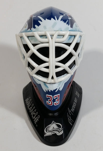 1996-97 McDonalds Mini Goalie Mask Colorado Avalanche Patrick Roy #33