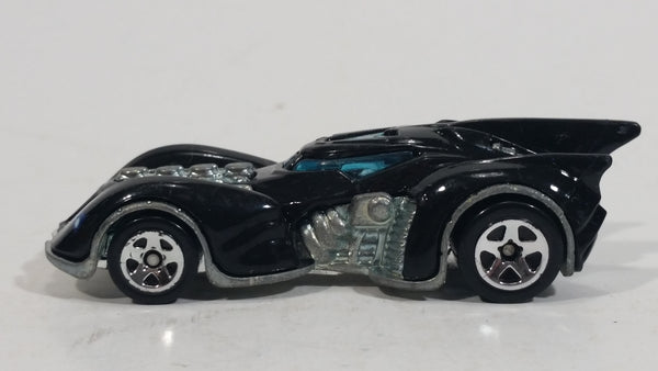 2012 Hot Wheels Batman Vehicles Then and Now Arkham Asylum Batmobile Black Die Cast Toy Car Superhero Vehicle