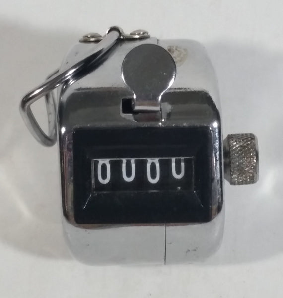 Vintage Metal Pocket Hand Sized Counter Clicker