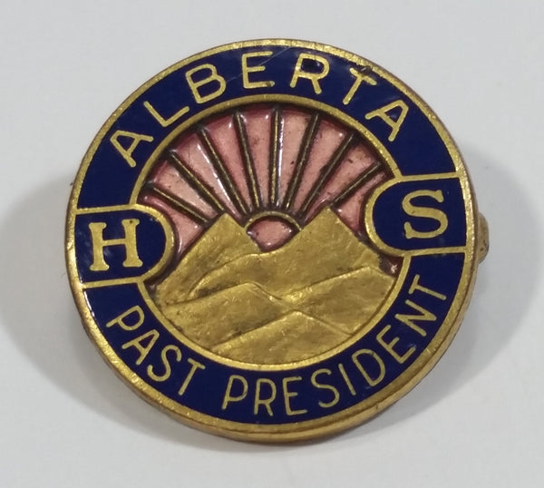 Rare Alberta Health Services Past President Recognition Award Pin Made by Birks