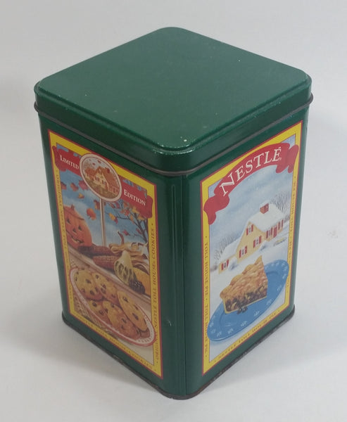 Four Seasons Green Nestle Toll House Tin Limited Edition