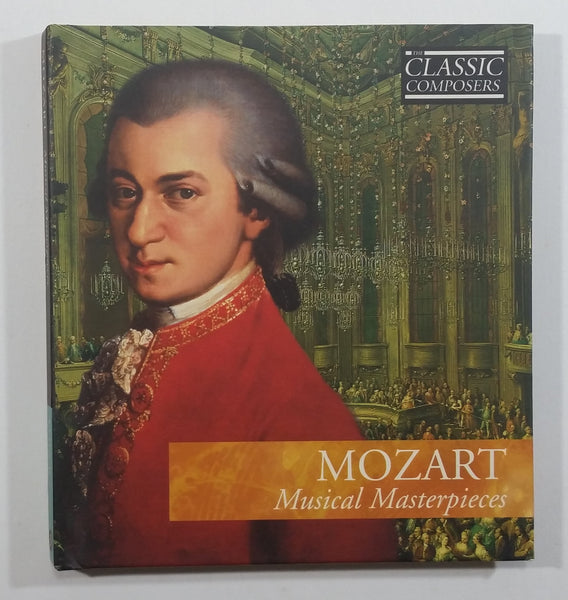 The Classic Composers Mozart Musical Masterpieces CD Compact Disc In Paper and Plastic Case