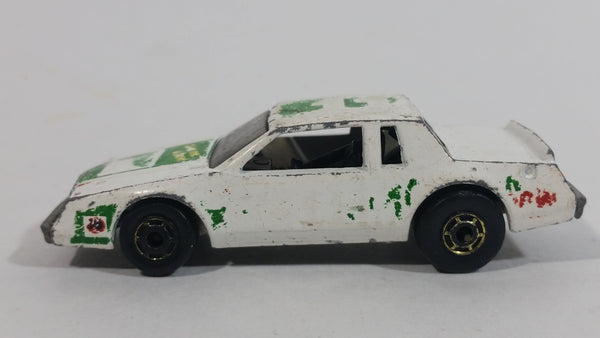 1983 Hot Wheels Mountain Dew Soda Pop Nascar Racing Stocker White Die Cast Toy Race Car Vehicle - GHO - #11 Darrel Waltrip - Treasure Valley Antiques & Collectibles