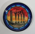 Vintage Beautiful Turkiye Turkey Hand Made Hand Painted Decorative Pottery Collector Plate Souvenir Travel Collectible