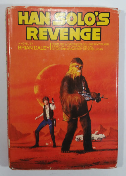 Vintage 1979 Twentieth Century Fox Star Wars Han Solo's Revenge Novel Book By Brian Daley
