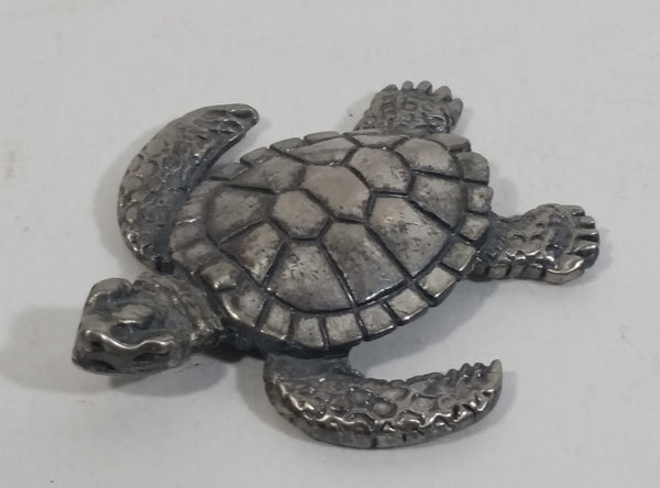 Small Metal Turtle Tortoise Figure Decorative Ornament