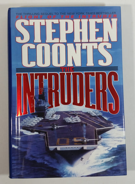 1994 The Intruders Hard Cover Book By Stephen Coonts