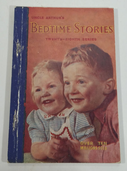 1951 Uncle Arthur's Bedtime Stories Twenty-Eighth Series Vintage Children's Book - Treasure Valley Antiques & Collectibles