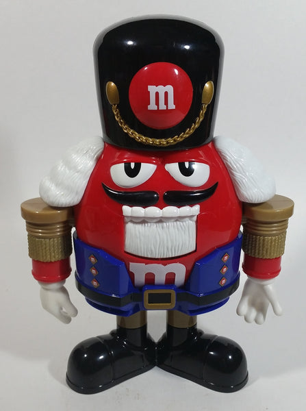 M & M's Chocolates Limited Edition Christmas Nutcracker Themed Candy Dispenser