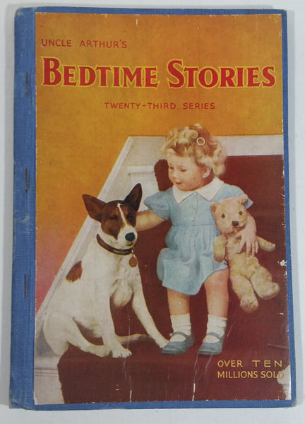 1946 Uncle Arthur's Bedtime Stories Twenty-Third Series Vintage Children's Book