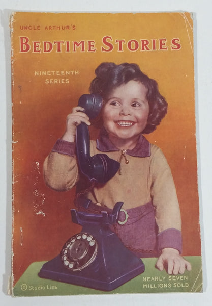 1942 Uncle Arthur's Bedtime Stories Nineteenth Series Vintage Children's Book - Treasure Valley Antiques & Collectibles