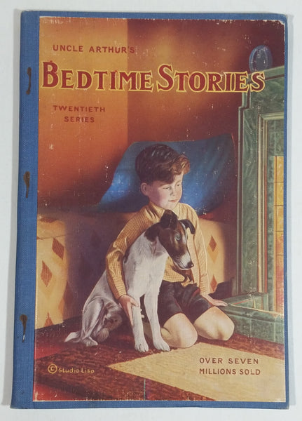 1943 Uncle Arthur's Bedtime Stories Twentieth Series Vintage Children's Book - Treasure Valley Antiques & Collectibles