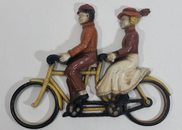 Vintage 1975 Homco Bicycle Built For Two Early Transportation Wall Decor No. 7357 Made in USA
