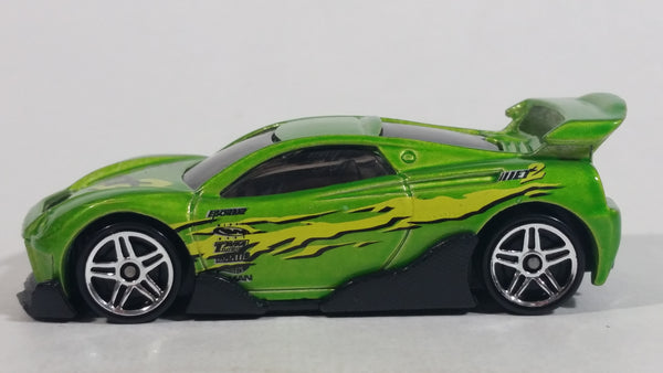 2001 Hot Wheels First Editions MS-T Suzuka Pearl Lime Green Die Cast Toy Car Vehicle