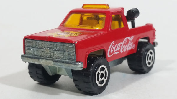 1996 Majorette Coca-Cola Coke Soda Pop Depanneuse No. 228 Truck Red Die Cast Toy Car Vehicle