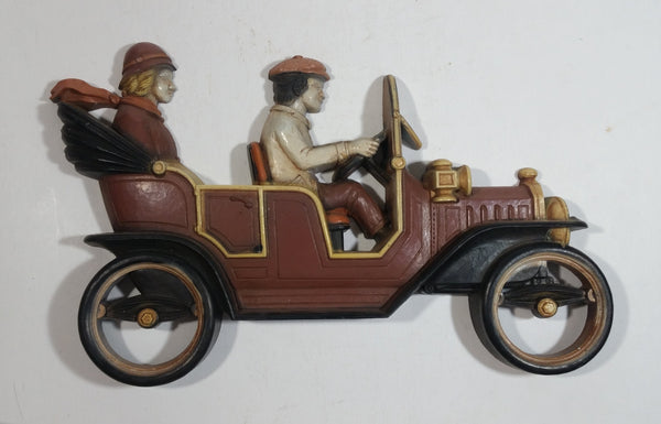 Vintage 1975 Homco Antique Classic Car Early Transportation Wall Decor No. 7359 Made in USA