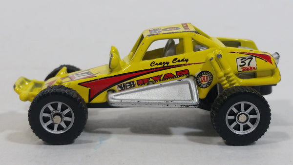 2000 Maisto Tonka Hasbro Dune Buggy Yellow Die Cast Toy Car Off-Road Racing Vehicle